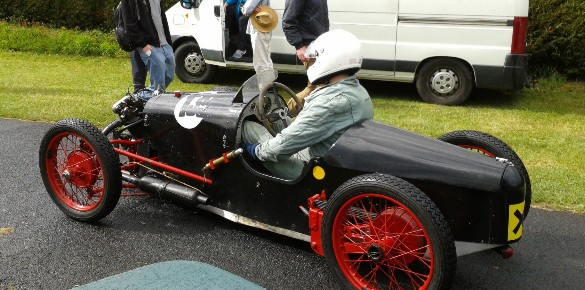 Sun, Rain, Hail, ERAs and Vintage Action at Shelsley Walsh
