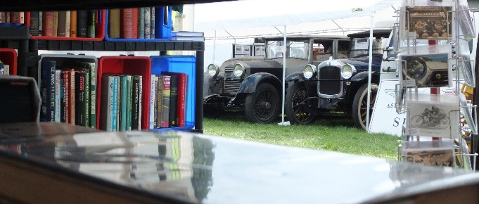 Petrol Pumps, Pedal Cars and The World's Smallest Sidecar : Beaulieu 2015