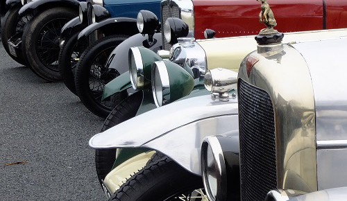A Vintage New Year's Day Treat – Much Marcle VSCC Gathering 2016