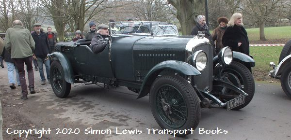 New Year – New Venue – Old Cars. VSCC Gathering Ross on Wye.
