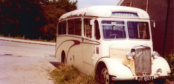 A Coach With A Past . Our 1937 Bedford WTB JT 8077