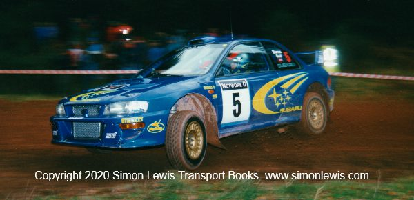 World Champions Down In The Woods : Network Q Rally GB Media Days 1998-99