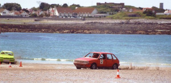 ON THE BEACH – Racing at Vazon Bay 20 Years Ago