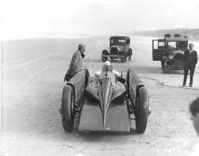 GOLDEN ARROW H O D Segrave & Major Irving. Daytona 1929