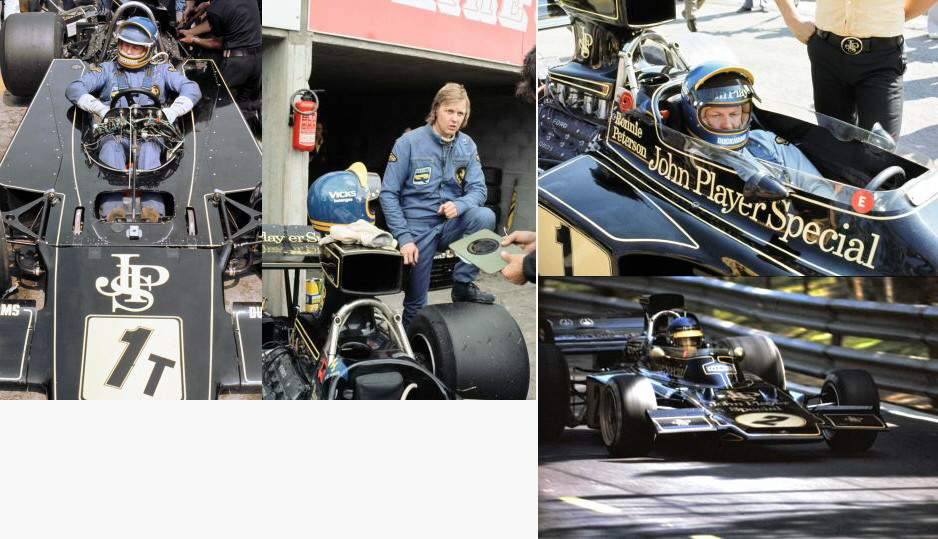 Ronnie Peterson JPS Team Lotus F1 1973-4 set