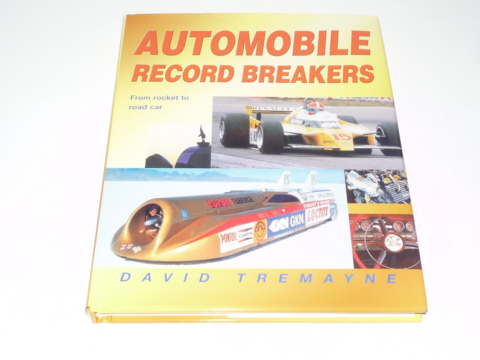 automobile record breakers land speed etc tremayne small format