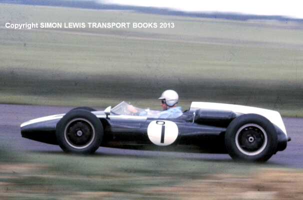 Cottage Car Sales >> Cooper T53 Climax Jack Brabham British GP 1960 COLOR photo