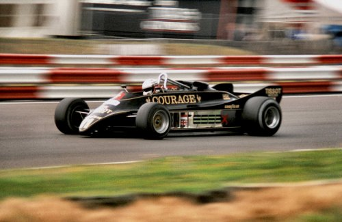 Lotus 88 Deangelis At Speed 1981 British Gp B