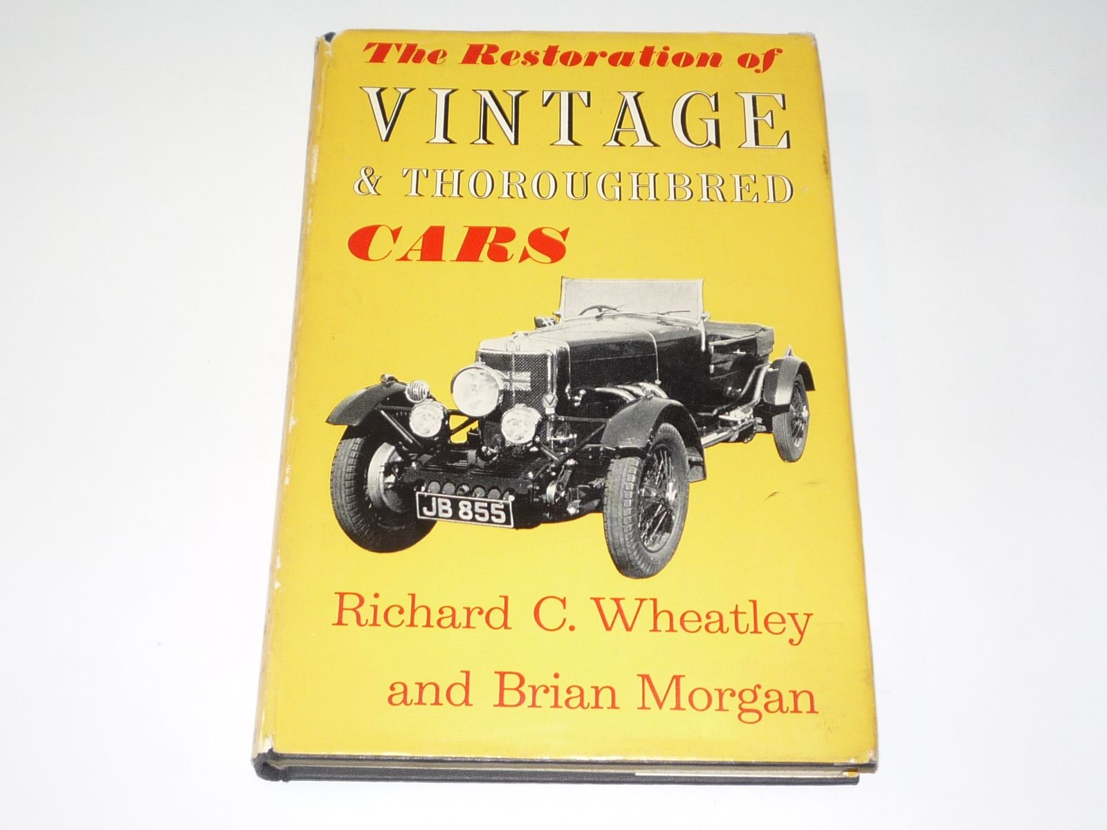 Restoration of vintage and thoroughbred cars the wheatley morgan 1959